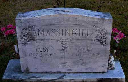 MASSINGILL, W G - Pope County, Arkansas | W G MASSINGILL - Arkansas Gravestone Photos
