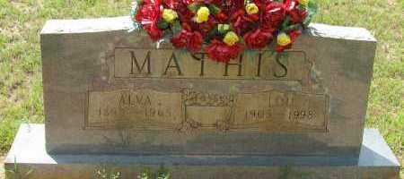MATHIS, LOU - Pope County, Arkansas | LOU MATHIS - Arkansas Gravestone Photos