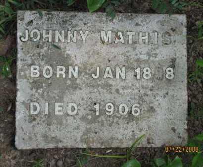 MATHIS, JOHNNY - Pope County, Arkansas | JOHNNY MATHIS - Arkansas Gravestone Photos