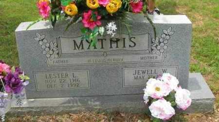 MATHIS, LESTER L - Pope County, Arkansas | LESTER L MATHIS - Arkansas Gravestone Photos