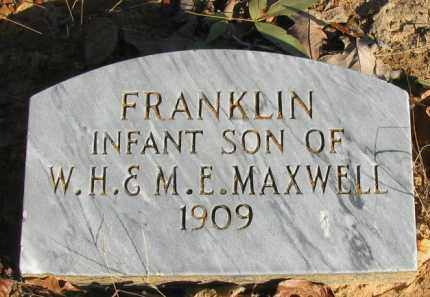 MAXWELL, FRANKLIN - Pope County, Arkansas   FRANKLIN MAXWELL - Arkansas Gravestone Photos