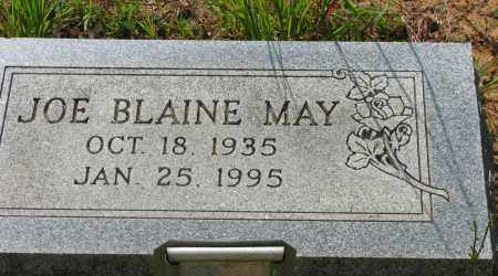 MAY, JOE BLAINE - Pope County, Arkansas | JOE BLAINE MAY - Arkansas Gravestone Photos