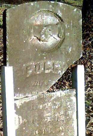 "MCALISTER, MARY ""POLLY"" - Pope County, Arkansas 