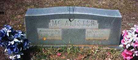 "MCALISTER, MARY ""NAOMI"" - Pope County, Arkansas 