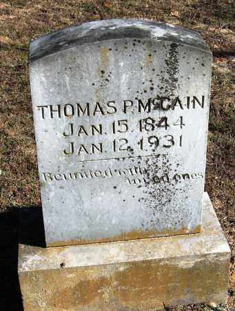 MCCAIN, THOMAS P - Pope County, Arkansas | THOMAS P MCCAIN - Arkansas Gravestone Photos