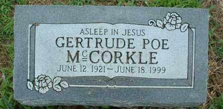 MCCORKLE, LILLIAN GERTRUDE - Pope County, Arkansas | LILLIAN GERTRUDE MCCORKLE - Arkansas Gravestone Photos