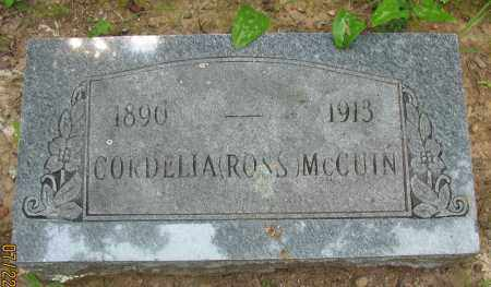 MCCUIN, CORDELIA - Pope County, Arkansas | CORDELIA MCCUIN - Arkansas Gravestone Photos