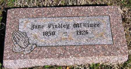 FINDLEY MCELWEE, JANE - Pope County, Arkansas | JANE FINDLEY MCELWEE - Arkansas Gravestone Photos