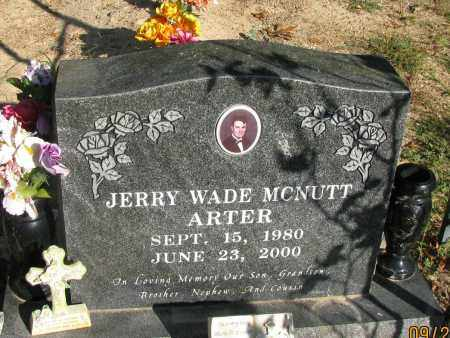 MCNUTT, JERRY WADE - Pope County, Arkansas | JERRY WADE MCNUTT - Arkansas Gravestone Photos