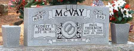 MCVAY, PAUL THERMON - Pope County, Arkansas | PAUL THERMON MCVAY - Arkansas Gravestone Photos