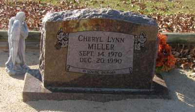 MILLER, CHERYL LYNN - Pope County, Arkansas | CHERYL LYNN MILLER - Arkansas Gravestone Photos