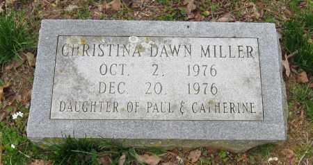 MILLER, CHRISTINA DAWN - Pope County, Arkansas | CHRISTINA DAWN MILLER - Arkansas Gravestone Photos
