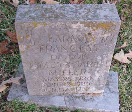 MILLER, ERMA FRANCESS - Pope County, Arkansas | ERMA FRANCESS MILLER - Arkansas Gravestone Photos