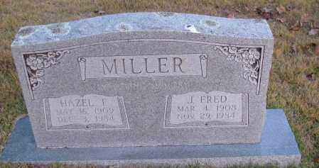 MILLER, HAZEL F - Pope County, Arkansas | HAZEL F MILLER - Arkansas Gravestone Photos