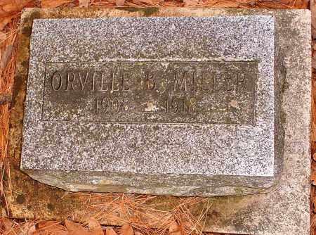 MILLER, ORVILLE B - Pope County, Arkansas | ORVILLE B MILLER - Arkansas Gravestone Photos