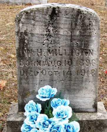 MILLIGAN, W  H - Pope County, Arkansas | W  H MILLIGAN - Arkansas Gravestone Photos