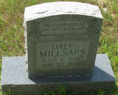 MILLSAPS, DALE - Pope County, Arkansas | DALE MILLSAPS - Arkansas Gravestone Photos