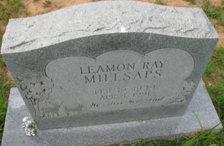 MILLSAPS, LEAMON RAY - Pope County, Arkansas | LEAMON RAY MILLSAPS - Arkansas Gravestone Photos