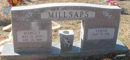 MILLSAPS, VERSIE - Pope County, Arkansas | VERSIE MILLSAPS - Arkansas Gravestone Photos
