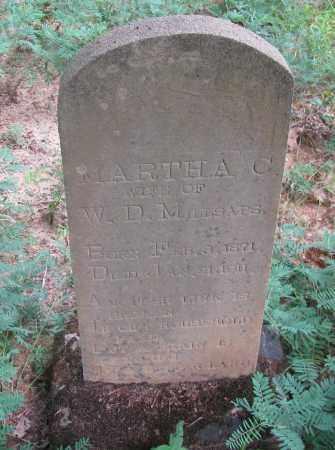 MILLSAPS, MARTHA C - Pope County, Arkansas | MARTHA C MILLSAPS - Arkansas Gravestone Photos