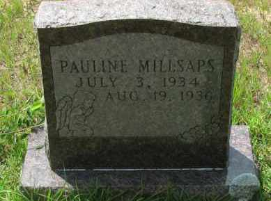 MILLSAPS, PAULINE - Pope County, Arkansas | PAULINE MILLSAPS - Arkansas Gravestone Photos