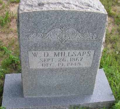 MILLSAPS, WILLIAM DAVID - Pope County, Arkansas | WILLIAM DAVID MILLSAPS - Arkansas Gravestone Photos