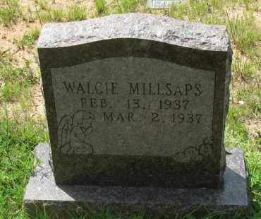MILLSAPS, WALCIE - Pope County, Arkansas | WALCIE MILLSAPS - Arkansas Gravestone Photos
