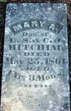 MITCHIM, MARY A - Pope County, Arkansas | MARY A MITCHIM - Arkansas Gravestone Photos