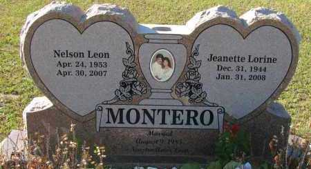 MONTERO, JEANETTE LORINE - Pope County, Arkansas | JEANETTE LORINE MONTERO - Arkansas Gravestone Photos