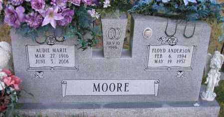 MOORE, AUDIE MARIE - Pope County, Arkansas | AUDIE MARIE MOORE - Arkansas Gravestone Photos
