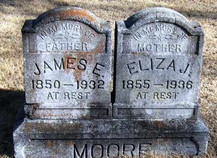 MOORE, JAMES E - Pope County, Arkansas | JAMES E MOORE - Arkansas Gravestone Photos
