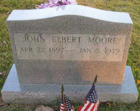 MOORE, JOHN ELBERT - Pope County, Arkansas | JOHN ELBERT MOORE - Arkansas Gravestone Photos