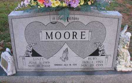 MOORE, RUBY - Pope County, Arkansas | RUBY MOORE - Arkansas Gravestone Photos