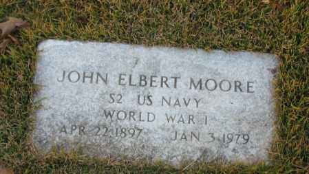 MOORE (VETERAN WWI), JOHN ELBERT - Pope County, Arkansas | JOHN ELBERT MOORE (VETERAN WWI) - Arkansas Gravestone Photos