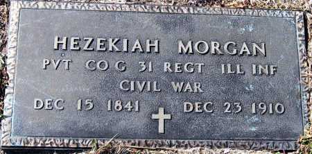 MORGAN  (VETERAN UNION), HEZEKIAH - Pope County, Arkansas | HEZEKIAH MORGAN  (VETERAN UNION) - Arkansas Gravestone Photos