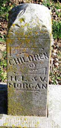 MORGAN, CHILDREN - Pope County, Arkansas | CHILDREN MORGAN - Arkansas Gravestone Photos