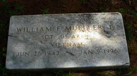 MUELLER, JR. (VETERAN VIET), WILLIAM F - Pope County, Arkansas | WILLIAM F MUELLER, JR. (VETERAN VIET) - Arkansas Gravestone Photos