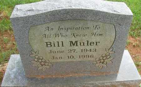 MULER, BILL - Pope County, Arkansas | BILL MULER - Arkansas Gravestone Photos