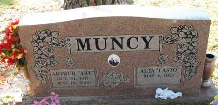 "MUNCY, ARTHUR  ""ART"" - Pope County, Arkansas 