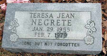NEGRETE, TERESA JEAN - Pope County, Arkansas | TERESA JEAN NEGRETE - Arkansas Gravestone Photos