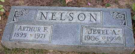 NELSON, ARTHUR F - Pope County, Arkansas | ARTHUR F NELSON - Arkansas Gravestone Photos