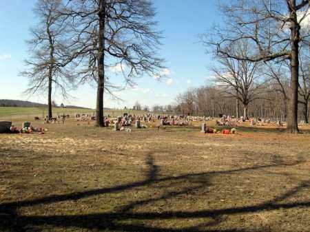 *NOGO CEMETERY OVERVIEW,  - Pope County, Arkansas |  *NOGO CEMETERY OVERVIEW - Arkansas Gravestone Photos
