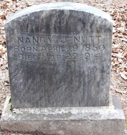 NUTT, NANCY J - Pope County, Arkansas | NANCY J NUTT - Arkansas Gravestone Photos