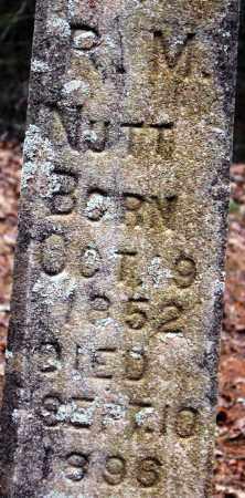 NUTT, ROBERT M - Pope County, Arkansas | ROBERT M NUTT - Arkansas Gravestone Photos