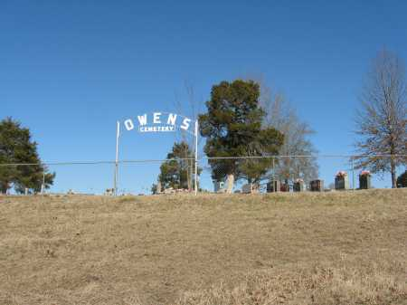 *OWENS CEMETERY GATE,  - Pope County, Arkansas |  *OWENS CEMETERY GATE - Arkansas Gravestone Photos