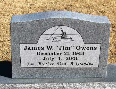 "OWENS, JAMES W  ""JIM"" - Pope County, Arkansas 
