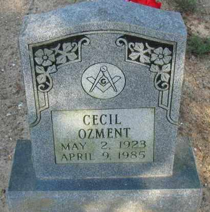 OZMENT, CECIL - Pope County, Arkansas | CECIL OZMENT - Arkansas Gravestone Photos