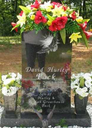 PACK, DAVID HURLEY - Pope County, Arkansas | DAVID HURLEY PACK - Arkansas Gravestone Photos