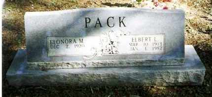 PACK, ELBERT L - Pope County, Arkansas | ELBERT L PACK - Arkansas Gravestone Photos