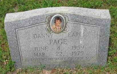 PAGE, DANNY EARL - Pope County, Arkansas | DANNY EARL PAGE - Arkansas Gravestone Photos